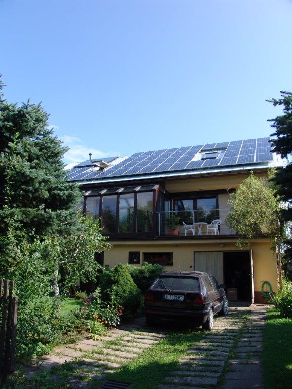 Fotovoltaika narodinném domě (2012)