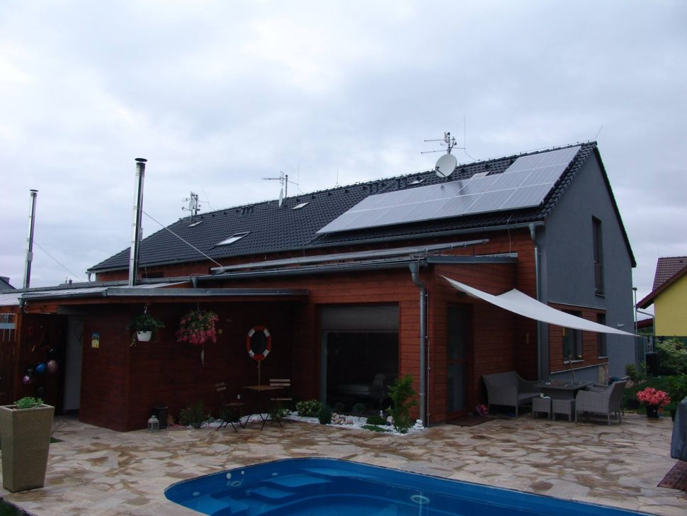 Fotovoltaika narodinném domě (2019)