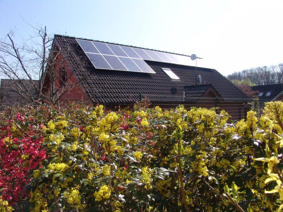 Fotovoltaika narodinném domě (2013)