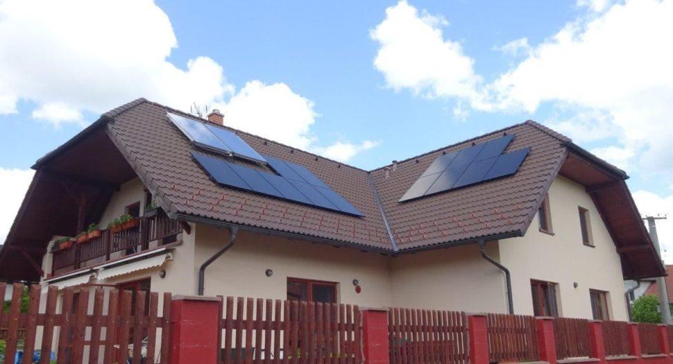 Fotovoltaika narodinném domě