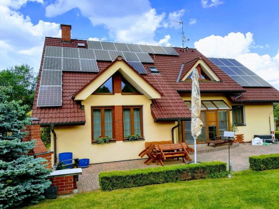 Fotovoltaika narodinném domě (2018)
