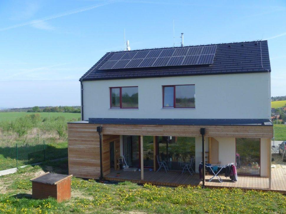 Fotovoltaika narodinném domě (2020)